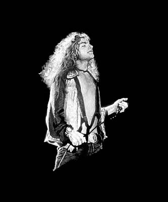 Singers Painting - Robert Plant by William Walts