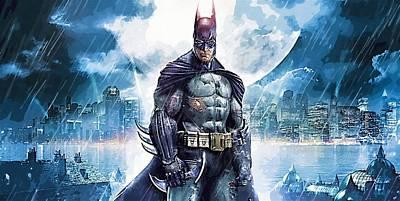 Batman Digital Art - Robin And Batman Art by Egor Vysockiy