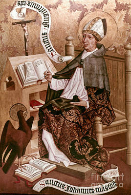 5th Painting - Saint Augustine (354-430) by Granger