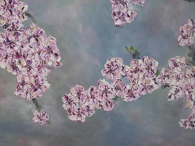 Sakura Painting - Sakura by Wil Bussink