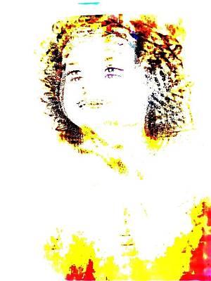 Shirley Temple Digital Art - Shirley Temple by HollyWood Creation By linda zanini
