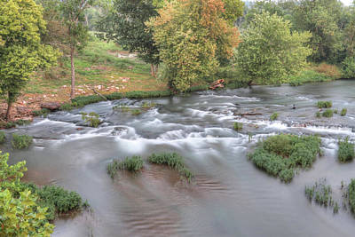 Missouri Photograph - Shoal Creek by Michael Munster