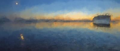 Sky Digital Art - Shooting The Last Light Iv by Jon Glaser