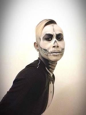 Digital Art - Skull And Tux by Kent Chua