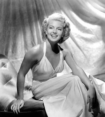 1940s Movies Photograph - Slightly Dangerous, Lana Turner, 1943 by Everett