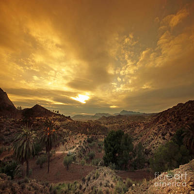 Spanish Landscape Photograph - Spanish Landscape by Angel  Tarantella