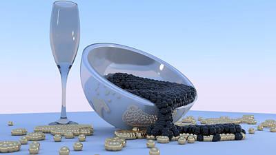 Spill Print by Andre Deherrera