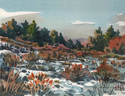 Spring Thaw Print by Donald Maier
