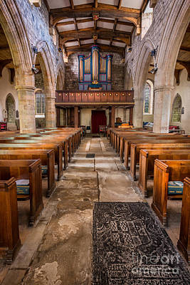 Beam Digital Art - St. Marys Church by Adrian Evans