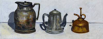 Water Pitcher Painting - Still Life by Ava Shelton