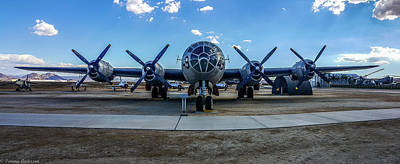 Photograph - Superfortress by Tommy Anderson