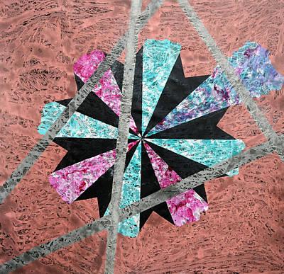 Flower Painting - Supernova by Sumit Mehndiratta