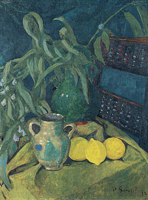 Fruit Painting - Synchrony In Green by Paul Serusier
