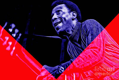 T Bone Walker Collection Print by Marvin Blaine