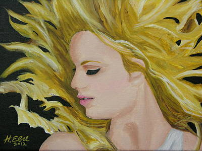 Taylor Swift Painting - Taylor Swift Fearless by Hubert Ebel