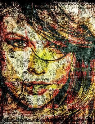 Taylor Swift Mixed Media - Taylor Swift by Svelby Art