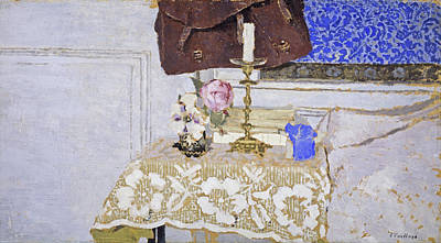 Candle Painting - The Candlestick by Edouard Vuillard