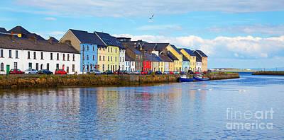 The Claddagh Galway Print by Gabriela Insuratelu