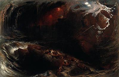 John Martin Painting - The Deluge by John Martin
