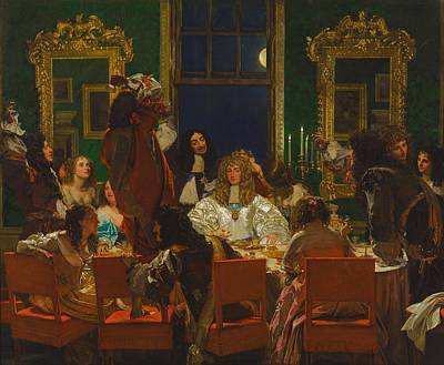 Buckingham Palace Painting - The Life Of Buckingham by Augustus Leopold Egg