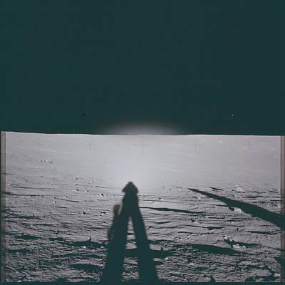 Andromeda Pyrography - The Moon by Artistic Panda