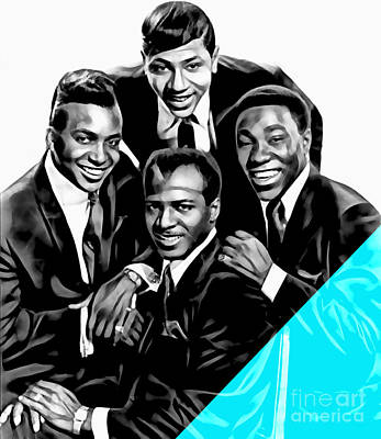 The Ojays Collection Print by Marvin Blaine