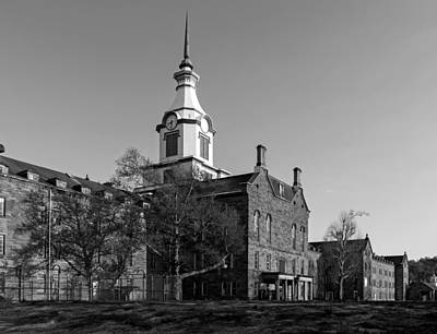 The Old Trans - Allegheny Lunatic Asylum Print by Mountain Dreams