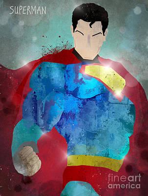 The Superman Print by Bri B