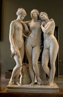 The Three Graces Print by Carl Purcell
