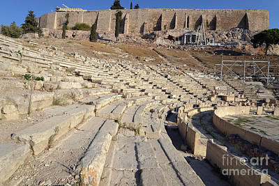 Theater Photograph - Theater Of Dionysus by George Atsametakis