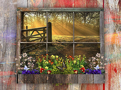 Barn Mixed Media - This Is Country Collection by Marvin Blaine