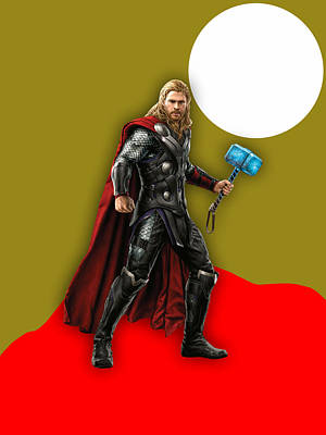 Thor Collection Print by Marvin Blaine
