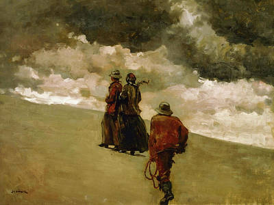 To The Rescue Print by Winslow Homer