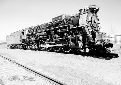 Design Photograph - Train Engine #2732 by Melissa Messick