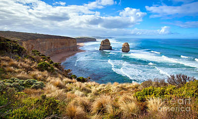 Great Ocean Road Photograph - Twelve Apostles Great Ocean Road by Bill  Robinson