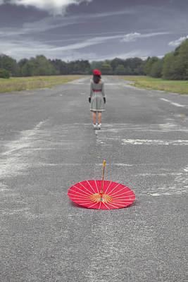 Asphalt Photograph - Umbrella by Joana Kruse