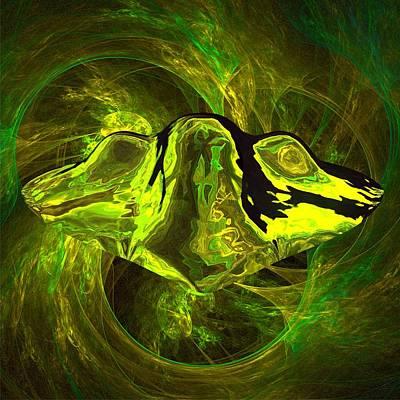 Xfiles Digital Art - Unidentified Flying Object By Raphael Terra by Raphael Terra