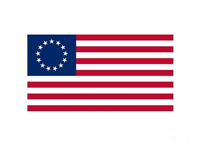 United States Flag Original by Frederick Holiday