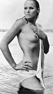 Artflakes Photograph - Ursula Andress (b. 1936) by Granger