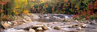 White River Scene Photograph - Usa, New Hampshire, White Mountains by Panoramic Images