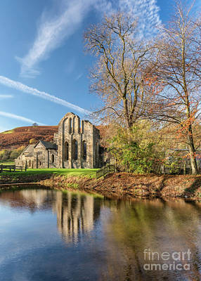 Valle Crucis Abbey  Print by Adrian Evans