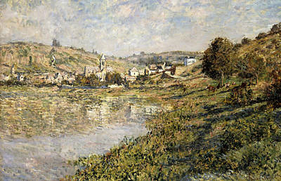 Claude Painting - Vetheuil by Claude Monet