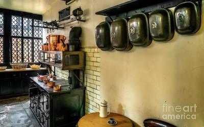 Victorian Kitchen Print by Adrian Evans