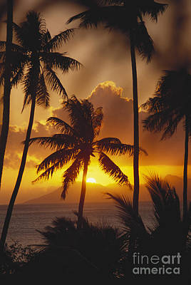 View Of Tahiti Print by Joe Carini - Printscapes