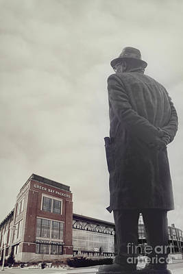 Green Bay Photograph - Vince Lombardi by Joel Witmeyer