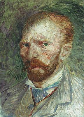 Self-portrait Photograph - Vincent Van Gogh (1853-1890) by Granger
