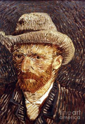 Self-portrait Photograph - Vincent Van Gogh by Granger
