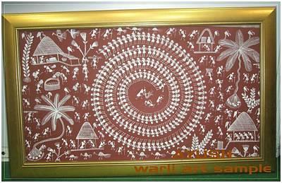 Warli Painting - Warli Art by AYUSH Adivasi Yuva Shakti