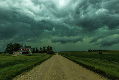 Weathered Print by Aaron J Groen