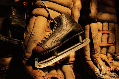 Canadian Sports Photograph - Well Worn by Bob Christopher